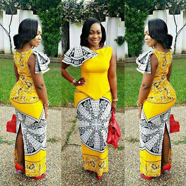 skirt and blouse ankara styles 2017 3
