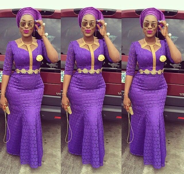 aso ebi lace gown styles 2017 5