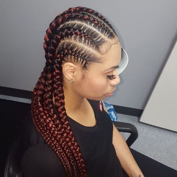 African Cornrows Designs 2018 For Every Lady S Hair Type