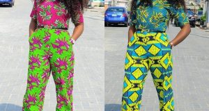 Hello beauties, there is a magical way to slay ankara fabric apart from skirt and blouse or gow ankara top and trouser styles for ladies .