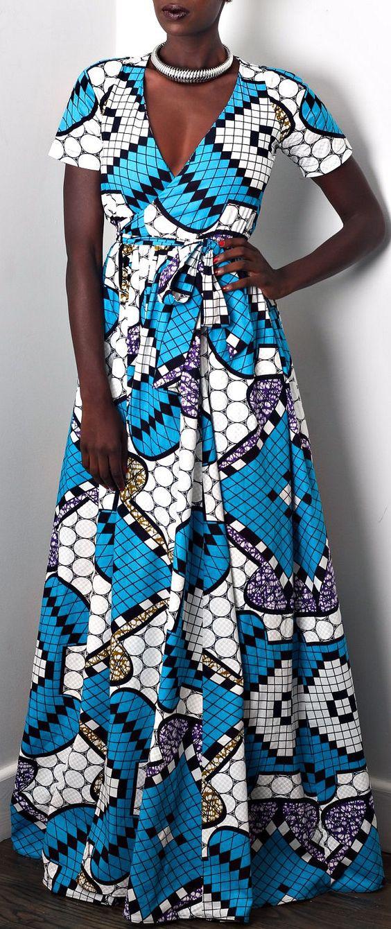 african print maxi dress new look