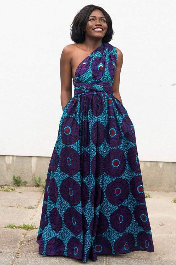 Ankara Maxi Dress Designs