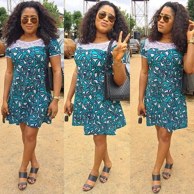 2018 Ankara Short Gown Styles For African Ladies