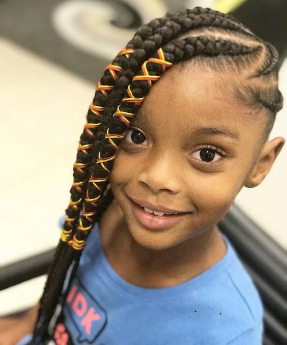 2018 Kids Braid Hairstyles Cute Braids Hairstyles For Kids