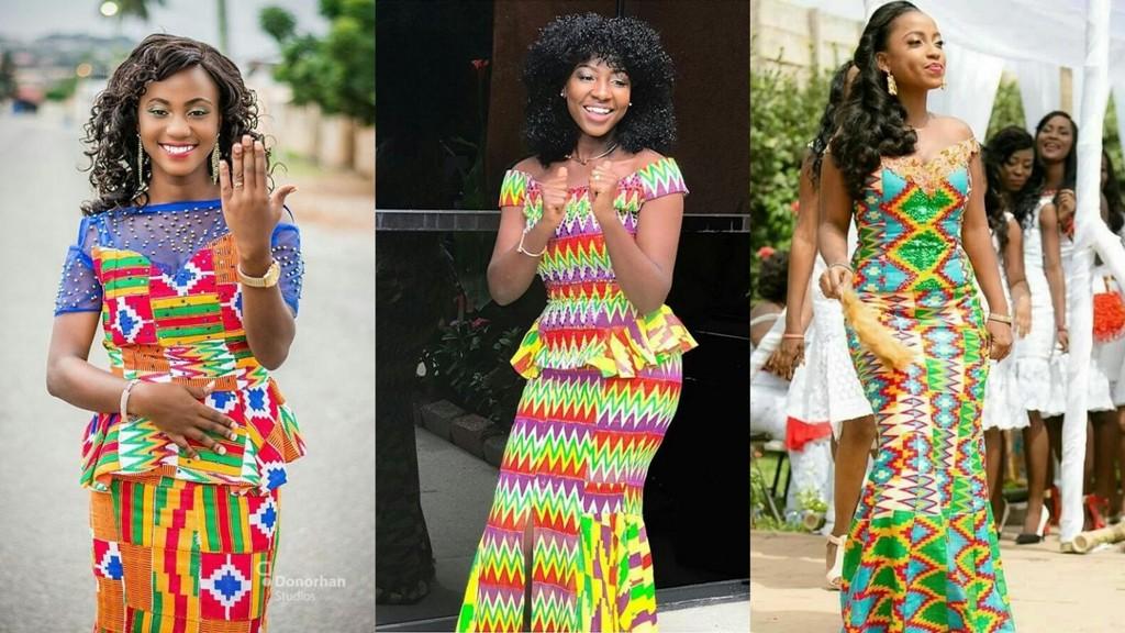 Kente Styles 2018 New Kente Designs For Ladies In African 2018