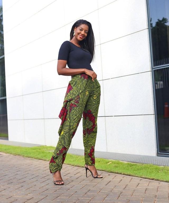african ankara trouser styles
