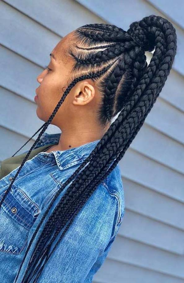 Braid Hairstyles With Weave 2020 : That Will Turn ...
