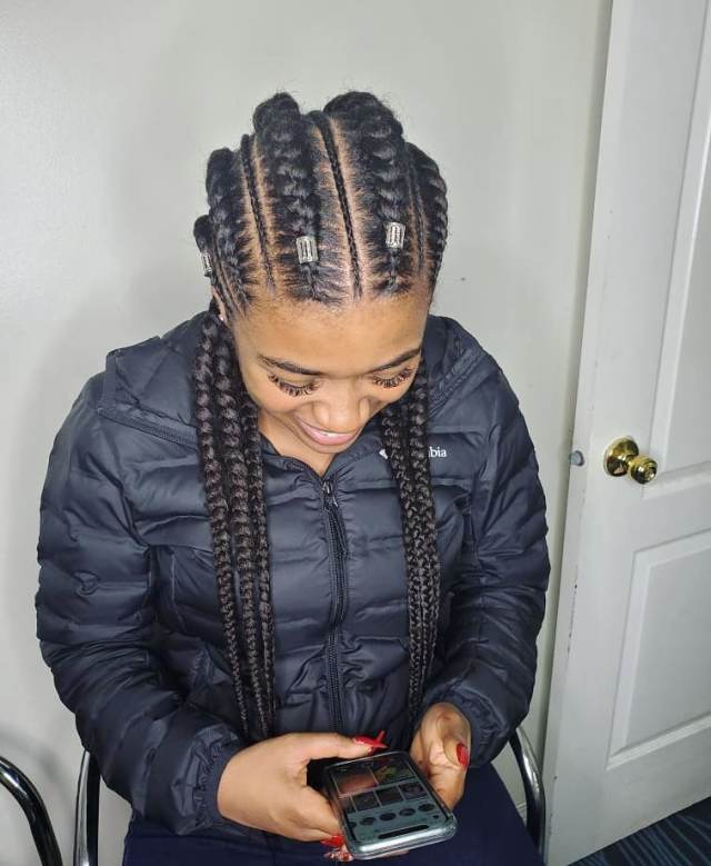 African Braided Hairstyles 2021: Beautiful Braided Styles ...