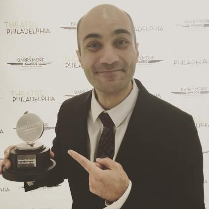 Maboud Ebrahimzadeh, Outstanding Leading Actor in a Play - WINNER