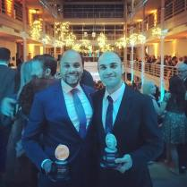 R. Eric Thomas, Outstanding New Play, and Maboud Ebrahimzadeh, Outstanding Leading Actor in a Play