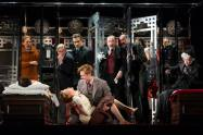 The cast of Murder on the Orient Express at McCarter Theatre