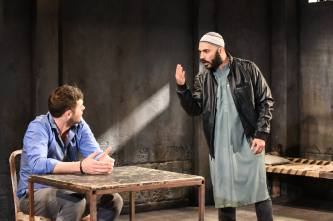 Thomas Keegan and Maboud Ebrahimzadeh in The Invisible Hand