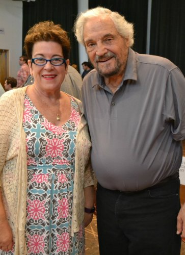 Artistic Director Molly Smith and Hal Linden of The Price
