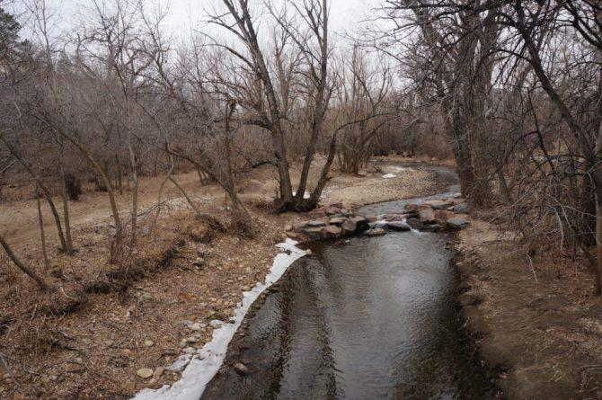 Le bucolique Boulder Creek Path