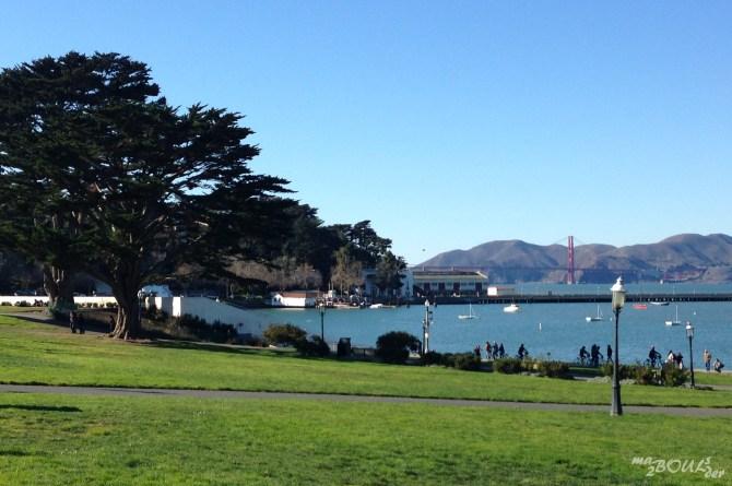 Pour Thanksgiving, on passe le pont du coté de San Francisco …