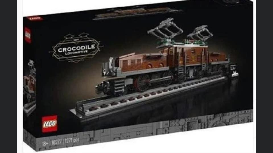 LEGO® Crocodile 10277 - Ma Brique Lumineuse