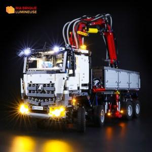 Kit led à câbler pour Le camion Mercedes Benz Arocs 42043 LEGO® Technic