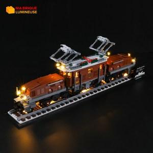 Kit led précâblé pour la Locomotive crocodile LEGO® Creator 10277