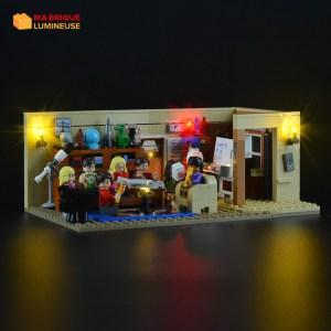 Kit led précâblé pour Big Bang theory LEGO® Ideas 21302