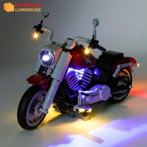 Kit led précâblé pour Harley Davidson Fat Boy LEGO® Creator 10269