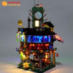 Kit led précâblé pour Le vieux magasin de pêche LEGO® 21310