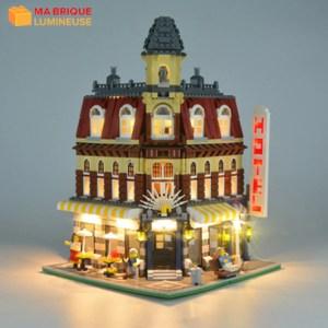 Kit led précâblé pour Le café corner LEGO® Creator 10182