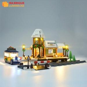 Kit led précâblé pour Le village d'hiver LEGO® Creator 10259