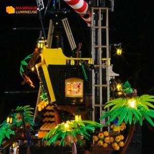 Kit led précâblé pour Les pirates de la baie LEGO® Ideas 21322