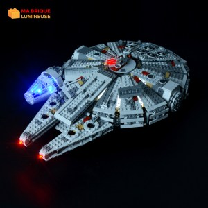 Kit led à câbler pour Faucon Millenium LEGO® Star Wars 75105