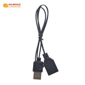 Câble d'extension USB pour kit led LEGO®