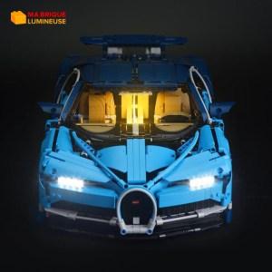 Kit led précâblé pour Bugatti Chiron LEGO® Technic 42083