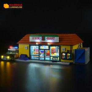 Kit led précâblé pour Kwik E Mart LEGO® Simpsons 71016