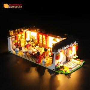 Kit led précâblé pour Le dîner du nouvel an chinois LEGO® City 80101