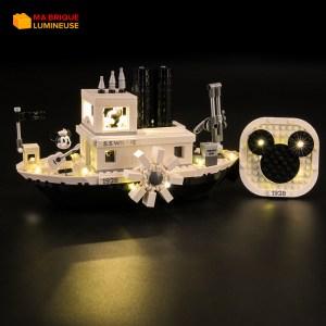 Kit led précâblé pour Steamboat Willie LEGO® Disney 21317