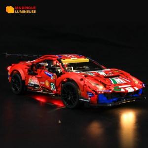 Kit led à câbler Ferrari 488 GTE LEGO® Technic 42125