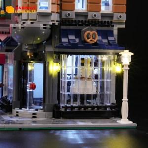 Kit led à câbler pour La place de l'assemblée LEGO® Creator 10255