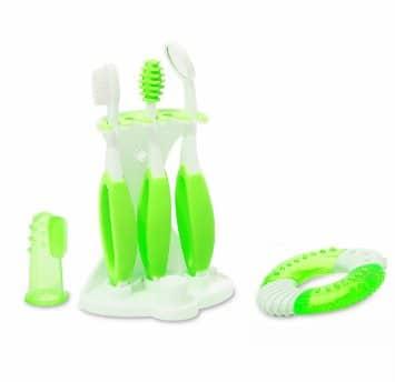 brosse à dents summer infant 6 accessoires