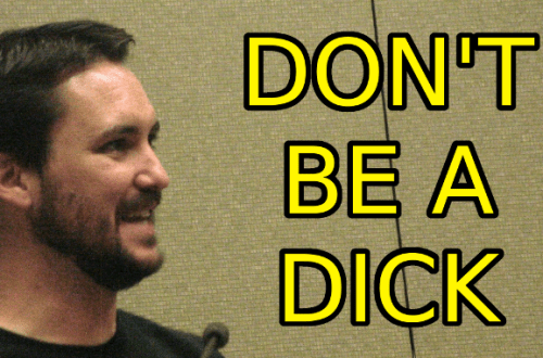 My Dad Made Me A Dick
