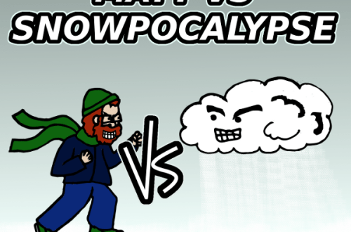 Matt Vs The Snowpocalypse – A Stupid Weather Post