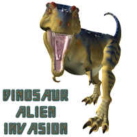 DINOSAUR ALIEN INVASION!