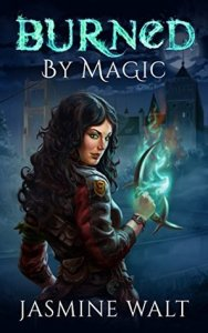 Burned By Magic Book Cover Image