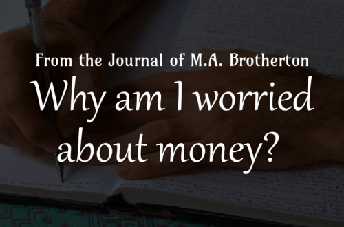 Why am I worried about money?
