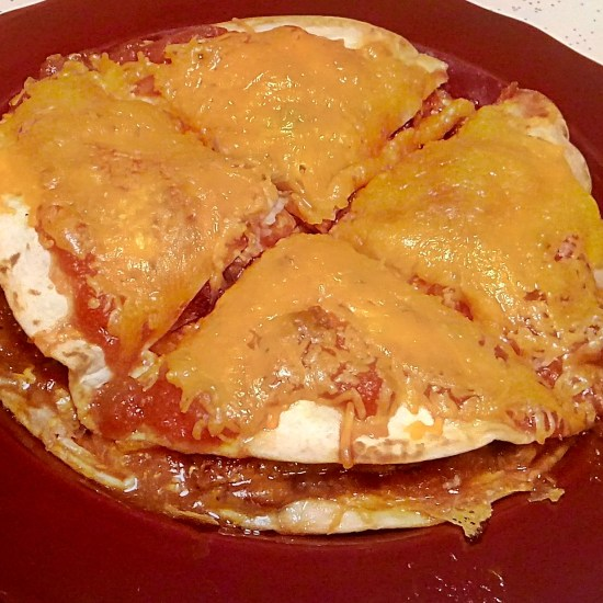 Home-Made Mexican Pizza