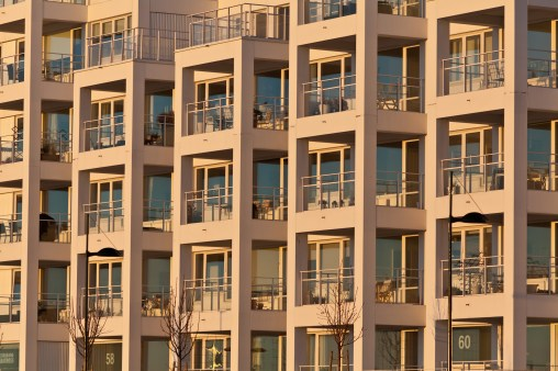 Honeycomb Balconies - Mabry Campbell