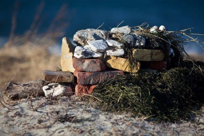 Symmetrical Rock Stacking - Mabry Campbell