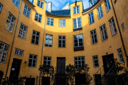 The Danish Courtyard - Mabry Campbell