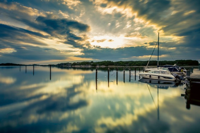 Sailboat-At-The-Skintebo-Marina-Mabry-Campbell