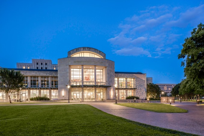 M.D.-Anderson-Library-Exterior-The-University-of-Houston-I-Mabry-Campbell