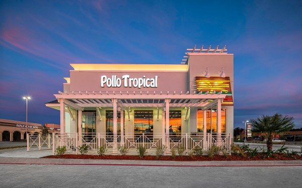 Pollo Tropical Restaurant West Facade Mabry Campbell