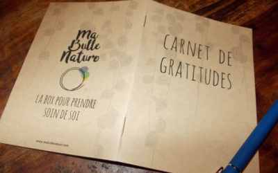Le carnet de gratitudes